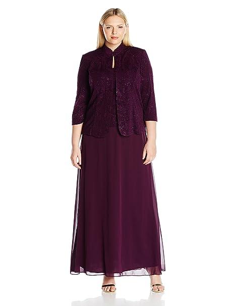 Amazon.com: Juego de vestido y chaqueta de mandarina de ...