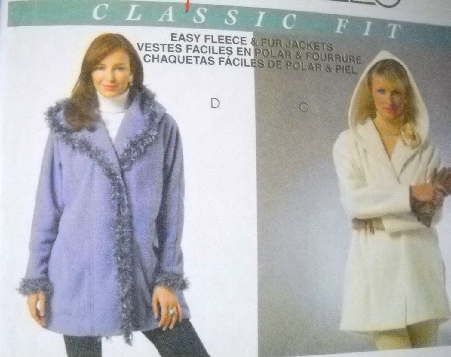 Amazon.com: Mccalls Pattern #M4975 Misses Lined & Unlined ...