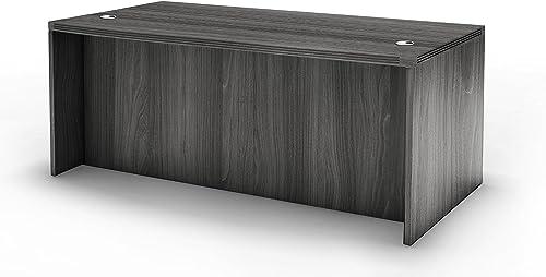 Mayline Aberdeen 72″W x 36″D Straight Front Rectangle Desk