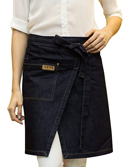 Favorite Amazon.com: Vantoo Denim Jean Waist Half Short Bristo Apron for  XP27
