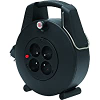 Brennenstuhl 1102901 Confort-Line CL-XL Enrouleur électrique 20 m H05VV-F 3G1,0 Noir
