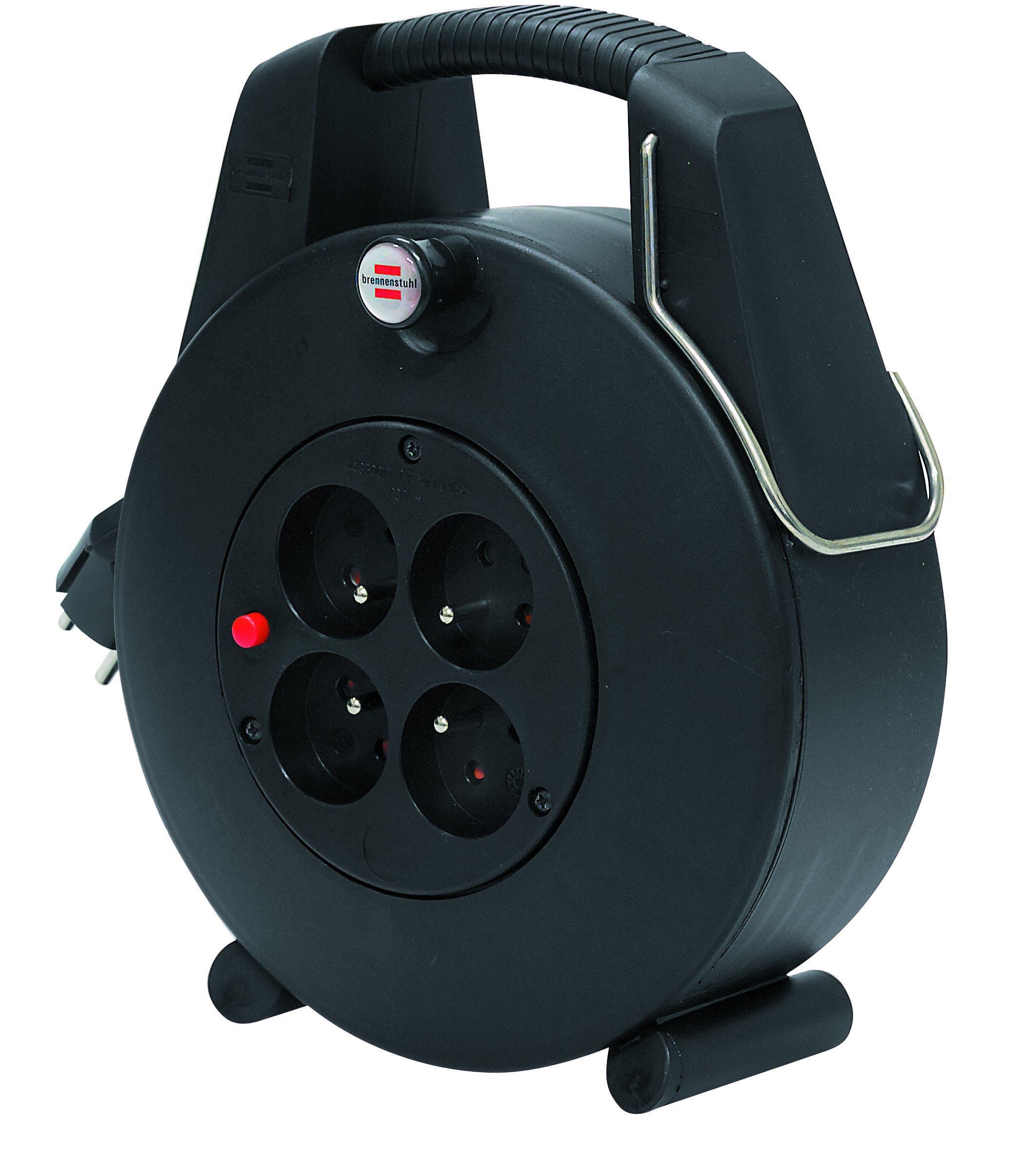 Brennenstuhl 1102901 Confort-Line CL-XL Enrouleur électrique 20 m H05VV-F  3G1,0 Noir a46d1dfca51d