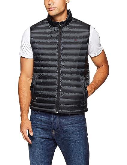 af25a7572bcc Tommy Hilfiger Men s Lightweight Packable Down Vest  Amazon.com.au ...