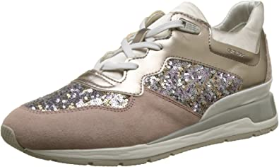Inocencia As sección  Amazon.com: Geox Women's D Shahira B Sneaker: Shoes