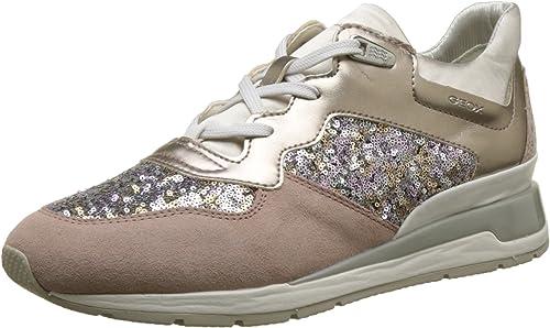 : Geox Women's D Shahira B Trainers: Shoes