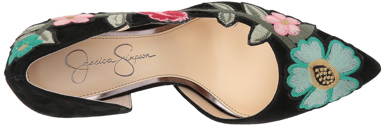 Jessica Simpson Women's Pristina Pump B078HZRJ4Z 8 B(M) US Black