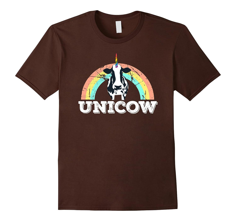 Unicow Cowicorn Unicorn made Up Animals Funny Graphic tee-FL