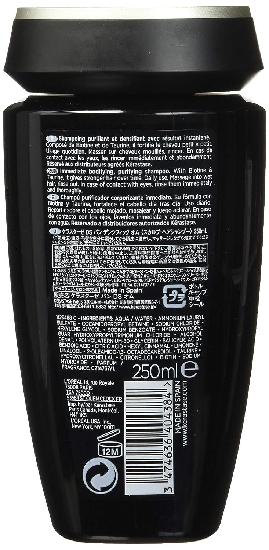 Kerastase Densefique - Champú para hombres, 250 ml: Amazon.es