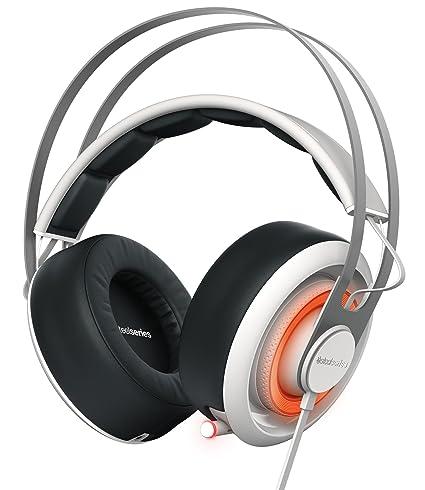 1efca0432bc Amazon.com: SteelSeries Siberia 650 Headset White, 51192: Electronics