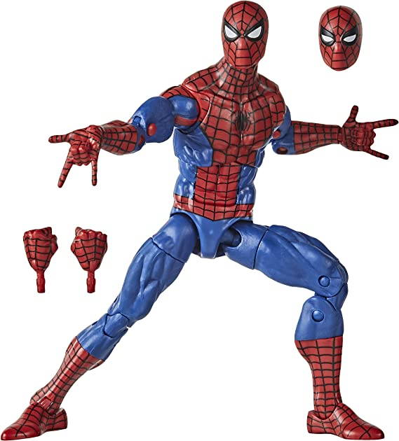 "IN HAND 2020 Marvel Legends Retro CYBORG SPIDER-MAN 6/"" Action Figure NEW"