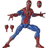Hasbro Marvel Legends Series - Figura coleccionable del Hombre Araña de 15 cm - Colección Retro