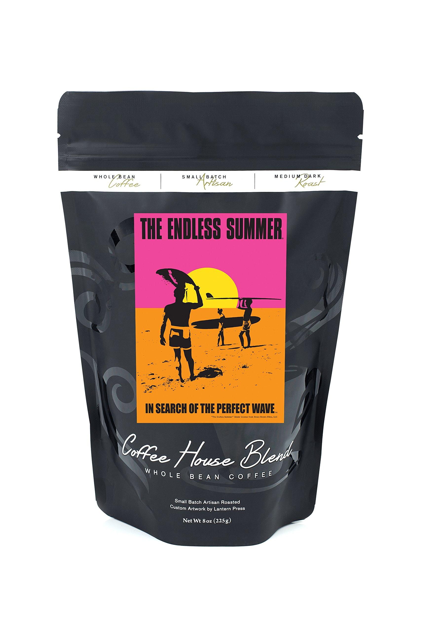 The Endless Summer - Original Movie Poster (8oz Whole Bean Small Batch Artisan Coffee - Bold & Strong Medium Dark Roast w/ Artwork)