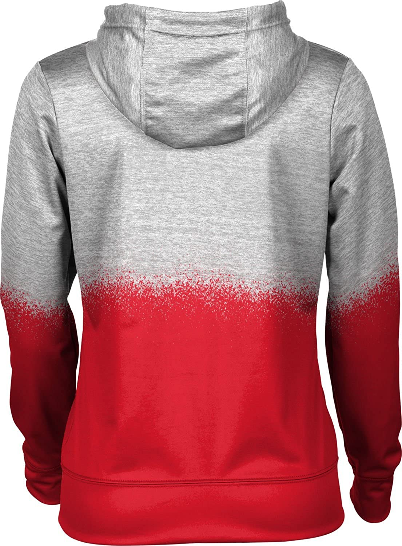 ProSphere Northeastern University Girls Pullover Hoodie School Spirit Sweatshirt Spray Over