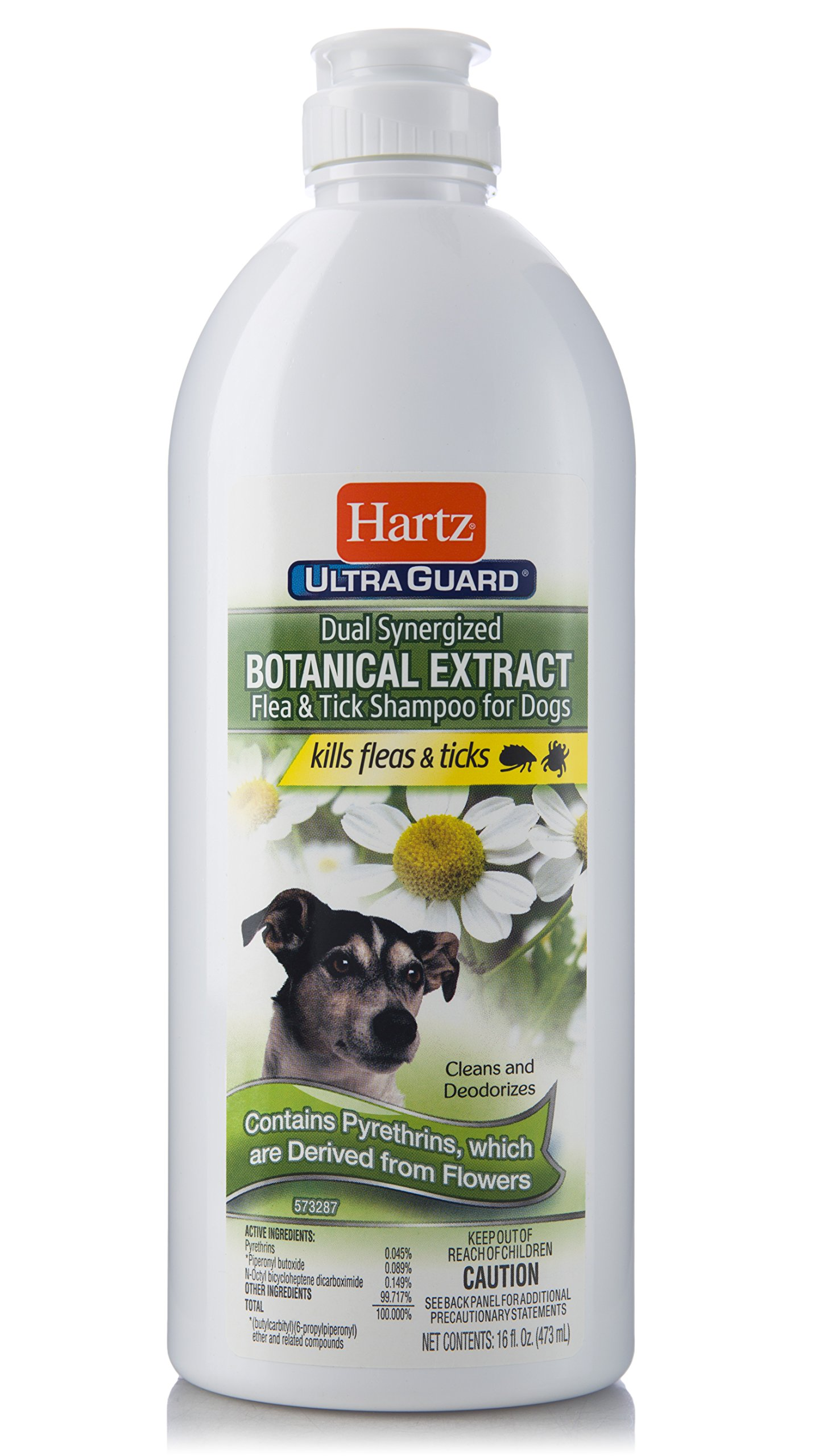 Hartz UltraGuard Botanical Extract Flea & Tick Dog Shampoo
