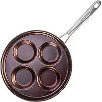 TECHEF - Eggcelente Pan, Swedish Pancake Pan, Plett Pan, Multi Egg Pan, Coated with New Teflon Select/Non-stick Coating…