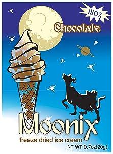 Moonix 150 Freeze Dried Ice Cream 1ct (Chocolate)