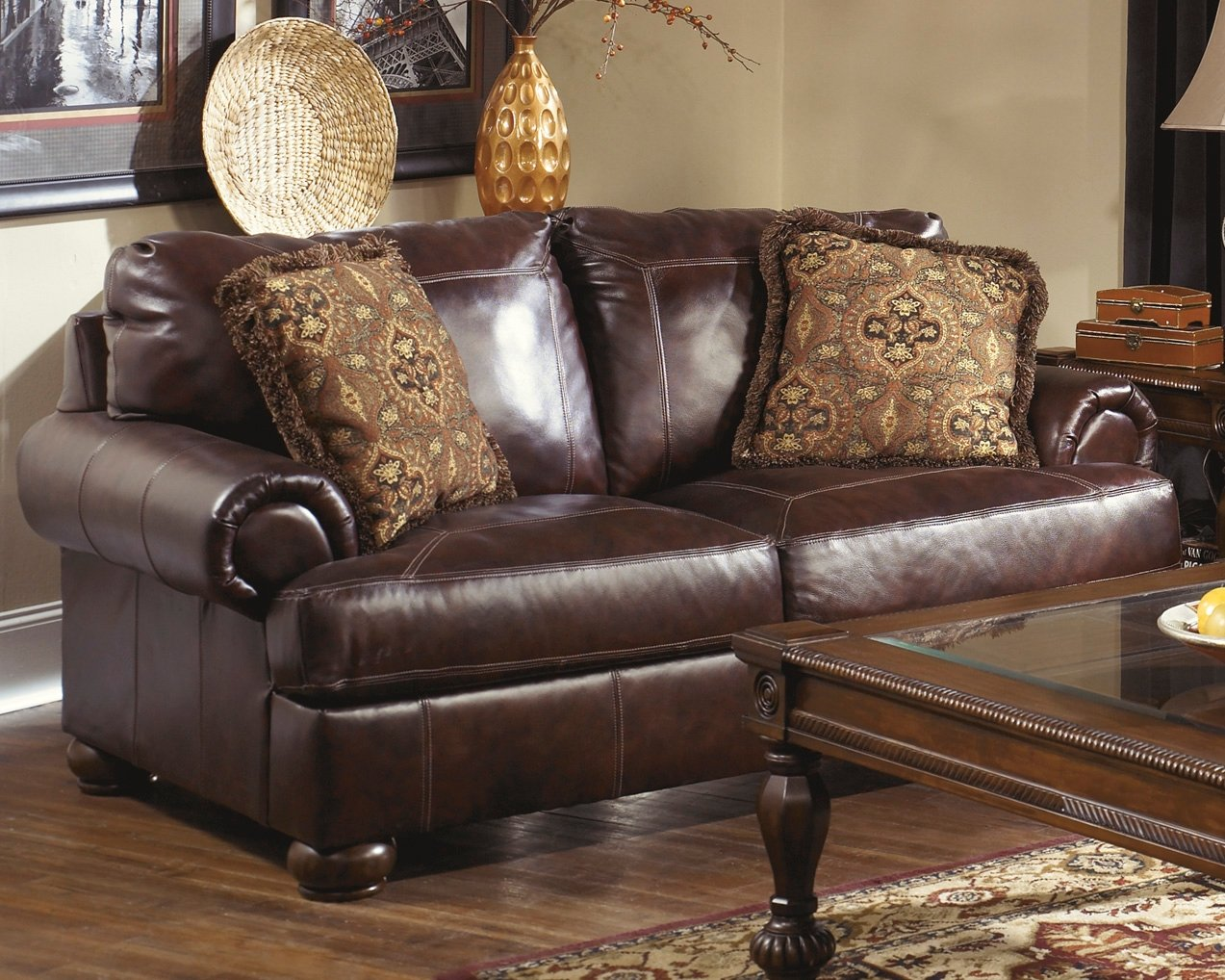 Amazon.com: Ashley Furniture Signature Design - Axiom Sofa ...