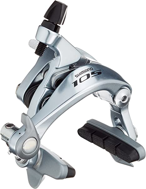 Shimano BR-5800 105 brake callipers silver 49 mm drop front