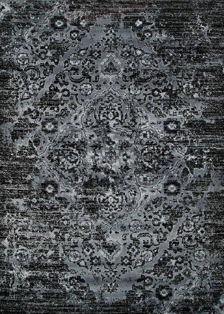 4620 Distressed Grey 5'2x7'2 Area Rug Carpet Large New