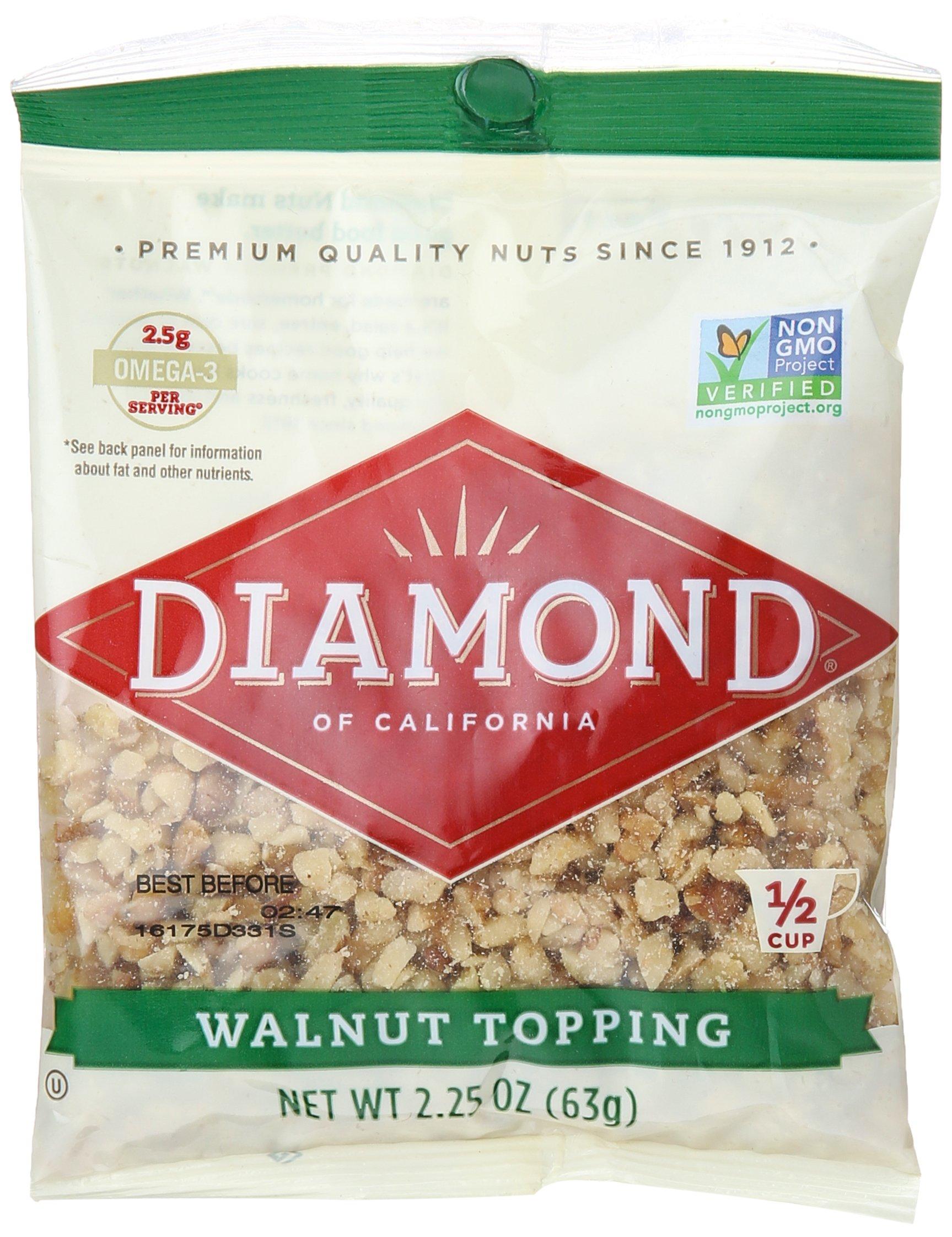 DIAMOND Chopped Walnuts, 2.25 oz