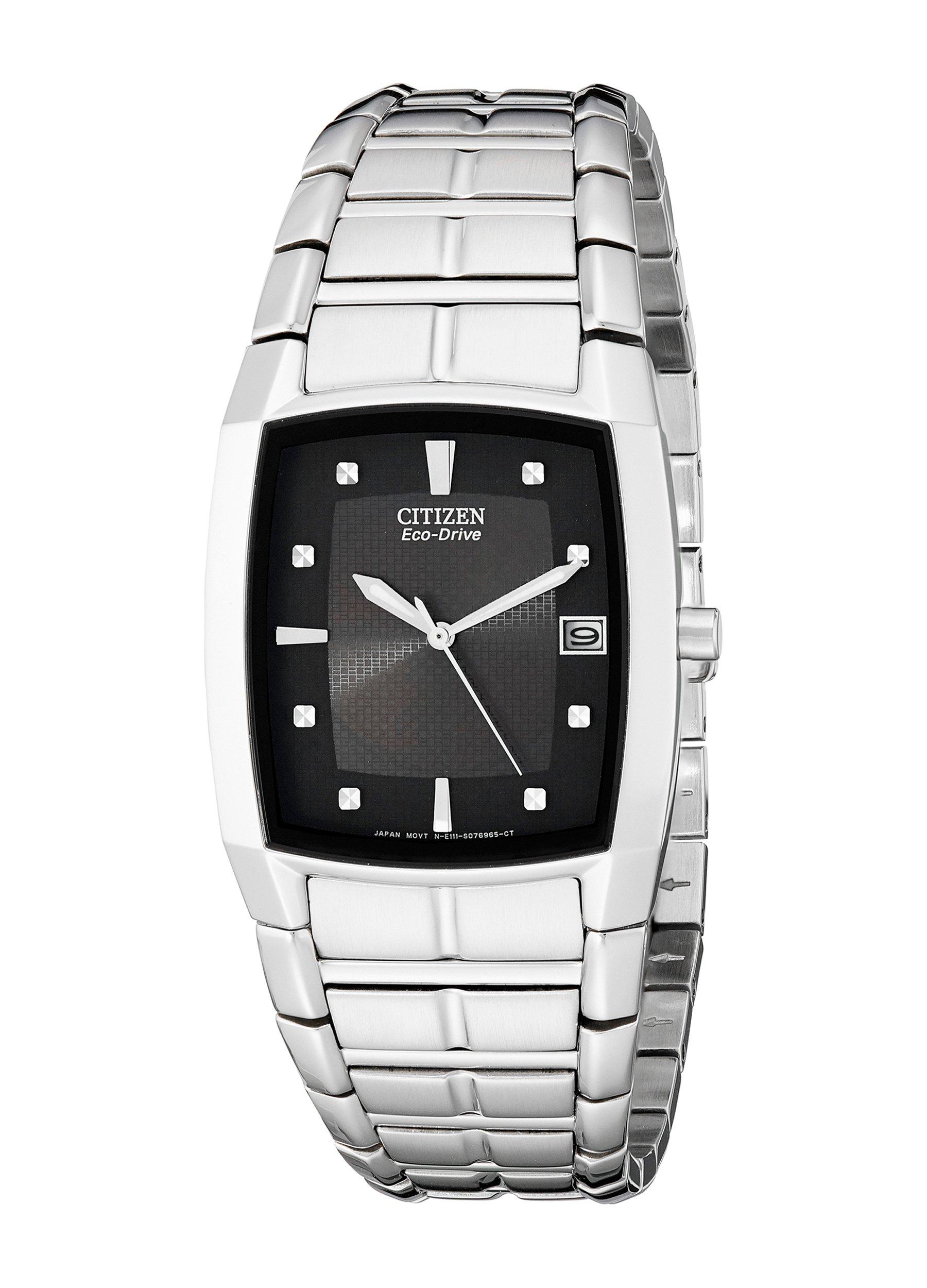 Citizen Men's BM6550-58E Eco-Drive Stainless Steel Watch