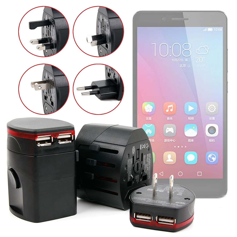 DURAGADGET Cargador De Viaje para Smartphone Huawei Honor 5C ...