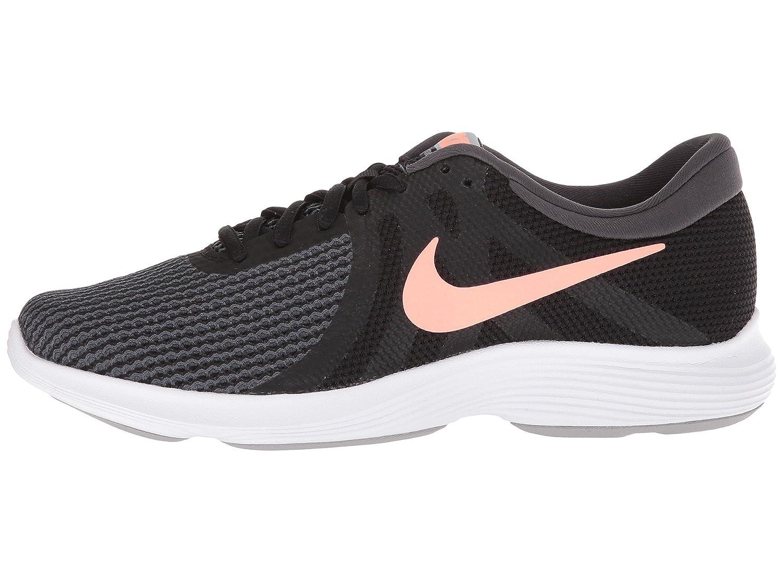 NIKE Women's Revolution 4 Wide Running Shoe B005A0I7OQ 7.5 B(M) US|Black/Crimson Pulse/Anthracite