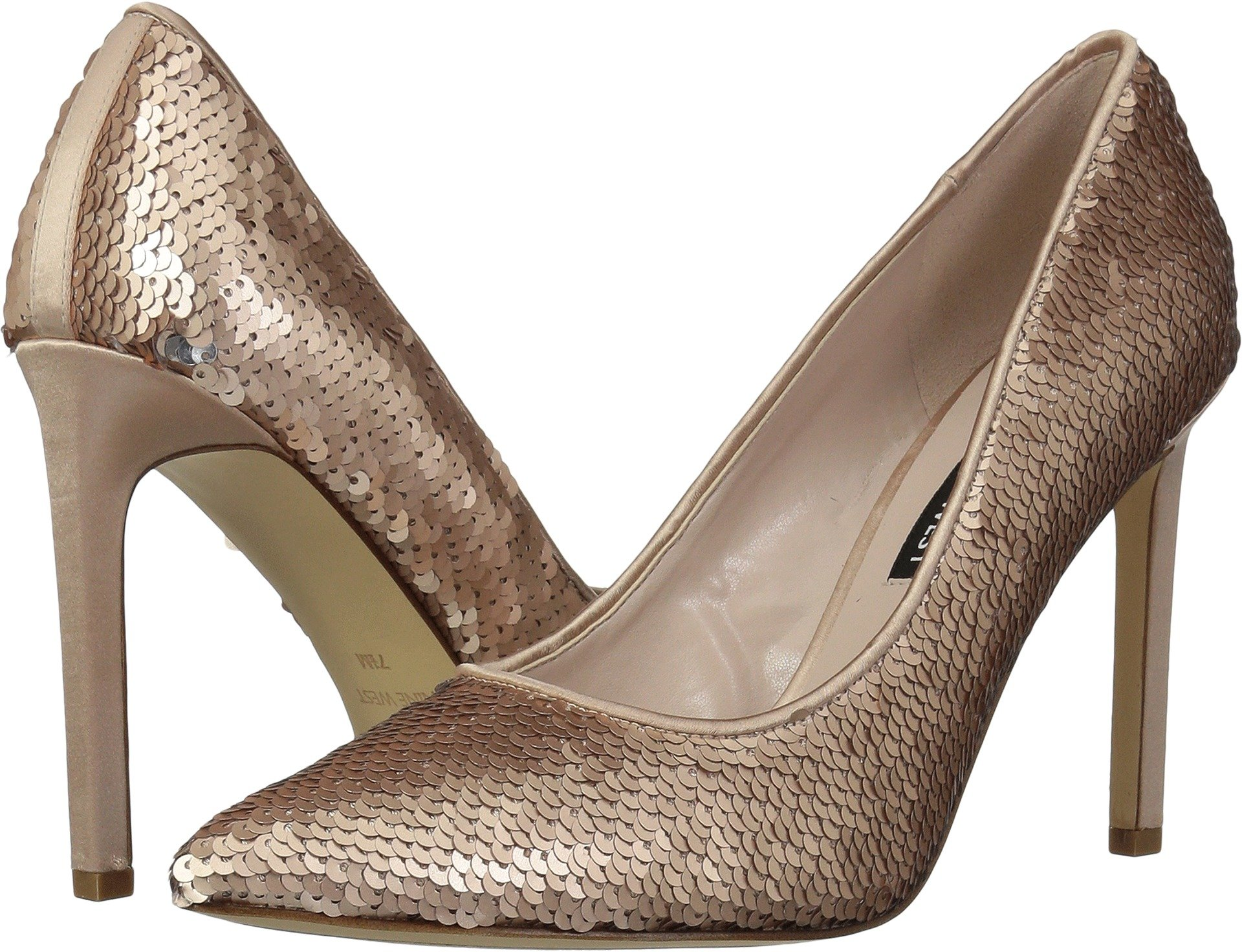 Nine West Women's Tatiana Pump Pink/Silver Synthetic 5 M US