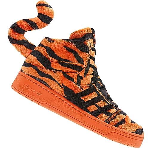 ADIDAS Originals JS Tigre Jeremy Scott Zapatos oBYo Zapatillas M29010 SORANGE - Naranja, 40 EU: Amazon.es: Zapatos y complementos