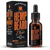 Hemp Beard Oil – Soften, Shape & Shine Your Beard, Eliminates Beard Itch & Moisturize – Fresh Squeeze Scent – contains Hemp Oil, Jojoba oil & Argan Oil – Best Beard Oil for Men by Wild Willies (1 oz.)
