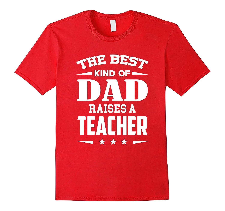 Dad Teacher Shirt-TD