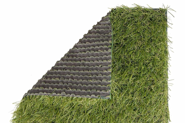 Restposten Kunstrasen Rasenteppich Grasteppich Havanna 35mm Gesamtgewicht 2kg//m2