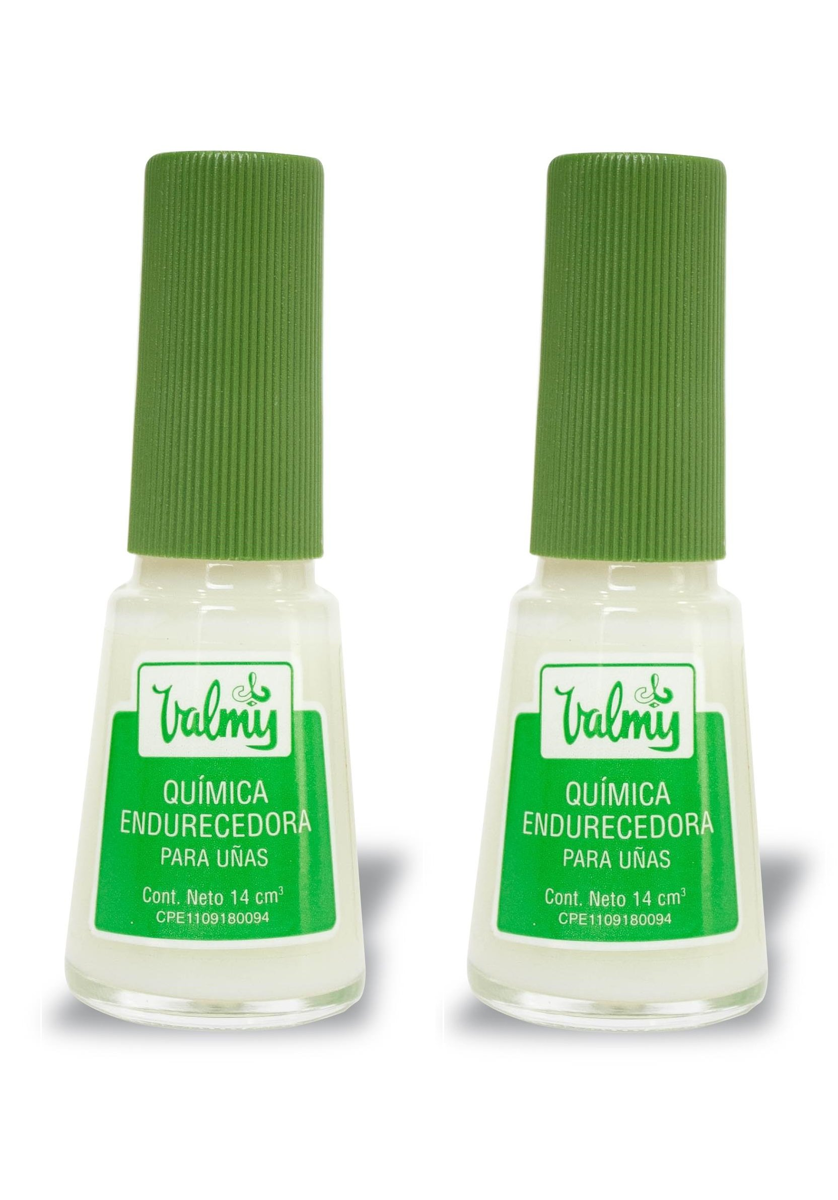 Valmy Quimica Endurecedora Nail Hardener - Strengthener and Protective Polish Treatment for Extra Strong Nails - Pack of 2 by Valmy