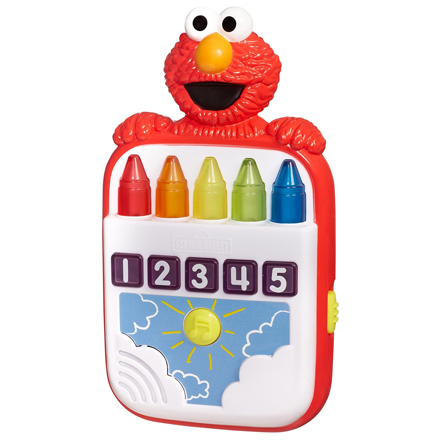 815kOuYFQcL._SL1500_ amazon com playskool sesame street steps to school elmo's count  at gsmx.co