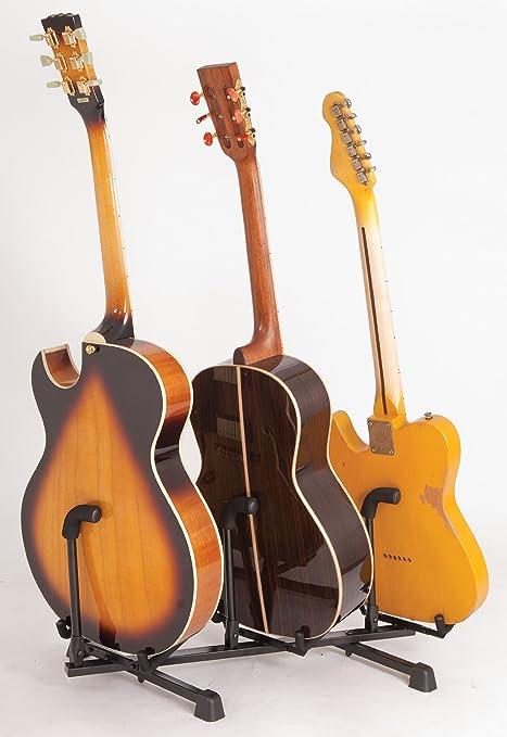 Expositor de pie con función de atril Kinsman guitarra - 3 ...