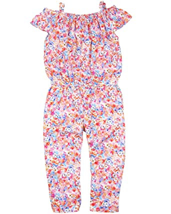 142f8fe0a3 Amazon.com  Mayoral Girl s Floral Print Jumpsuit