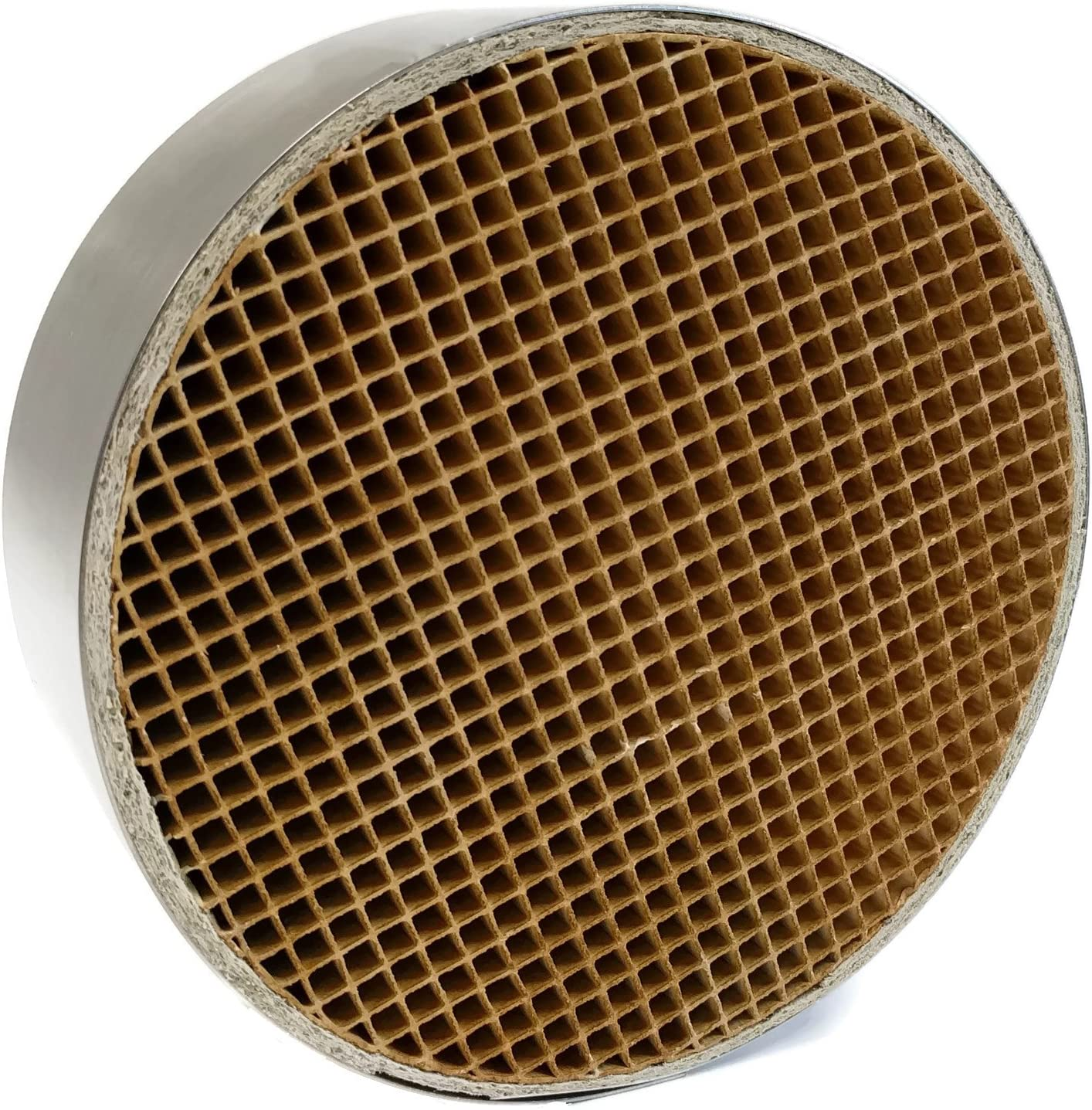 """Midwest Hearth Wood Stove Catalytic Combustor Replacement Catalyst Dutchwest Englander (6"""" x 2"""" Round Ceramic)"""