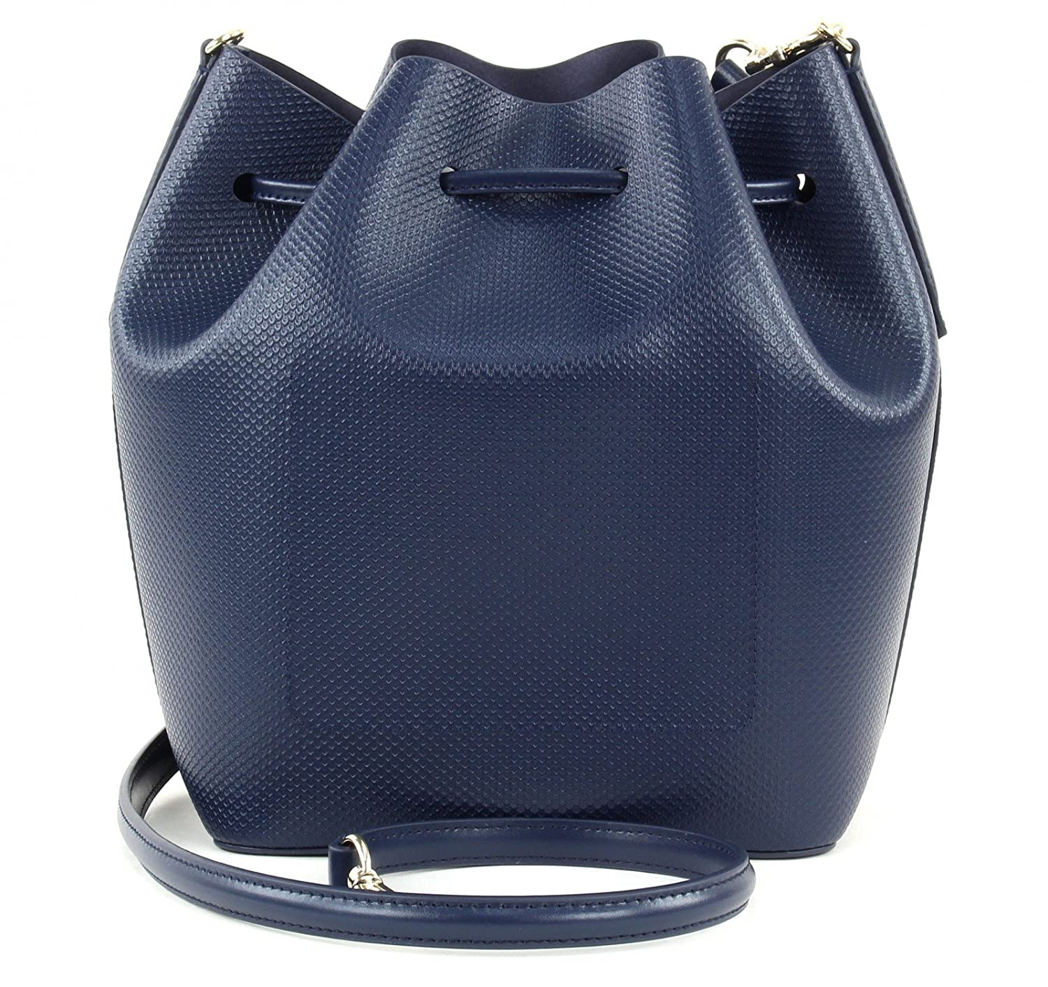 6d52899ca3 LACOSTE Chantaco Bucket Bag Peacoat: Amazon.co.uk: Shoes & Bags
