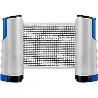 ZX DXIA Red de Tenis de Mesa Retráctil, Red Ajustable de Ping Pong Repuesto Portátil Retráctil Table Tennis Net Ping…