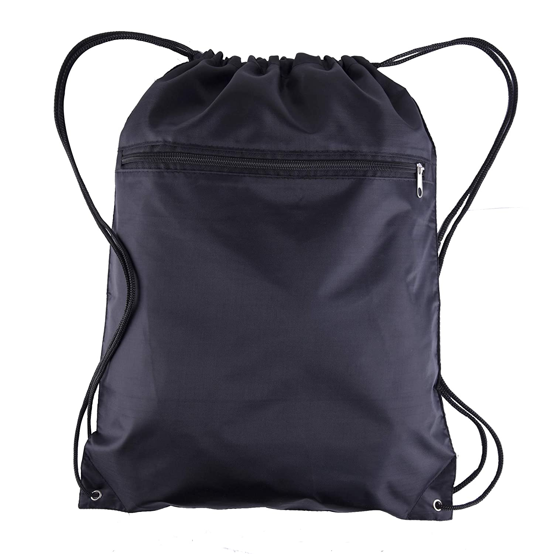 Amazon.com   BagzDepot (12 Pack) Promotional Polyester Drawstring Backpack  Sack Bag   Drawstring Bags 655ff6e5a1