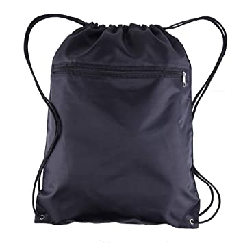 Amazon.com   BagzDepot (12 Pack) Promotional Polyester Drawstring Backpack  Sack Bag   Drawstring Bags 7e72399549