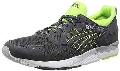 Asics Gel-Lyte V, Sneakers Basses Adulte Mixte - Gris (Dark Grey/Dark Grey 1616), 45 EU