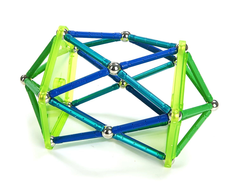geomag colour set 86 pieces amazoncouk toys games - Geomag Color 64 Pieces