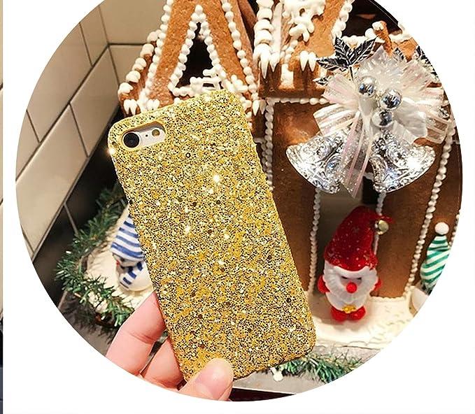 Amazon.com: Bling Glitter for iPhone 6S 7Plus Original Hard ...
