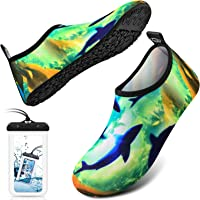DigiHero Water Shoes Barefoot Quick-Dry Outdoor Beach Swim Sports Aqua Yoga Socks Slip-on for Women Men