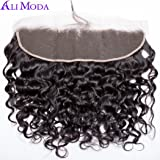 Ali Moda Malaysian Water Wave 3 Bundles Human Hair Weaves 100% Unprocessed Hair Extensions Natural Color