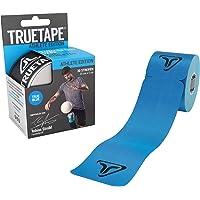 TRUETAPE - vorgeschnittenes Kinesiotape, 20 Streifen pro Rolle, innovatives Synthetikmaterial, inkl. +40 Anleitungen, Kinesiotapes