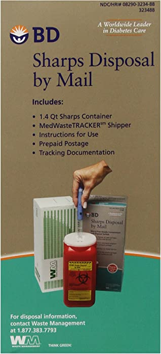 The Best Sharps Containers For Home Use With Return