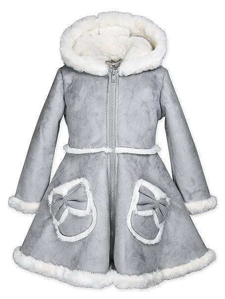 Amazon.com: Widgeon las niñas lazo bolsillo con capucha ...