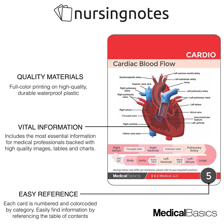 Amazon.com : Nursing Notes 60 High Yield Pocket Nursing Reference ...